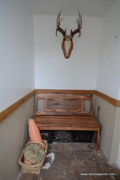 boot bench mudroom